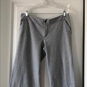 Gray active pants